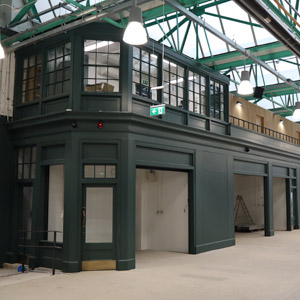 new stall inside market hall