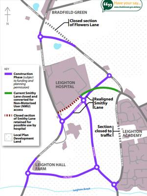 leighton map