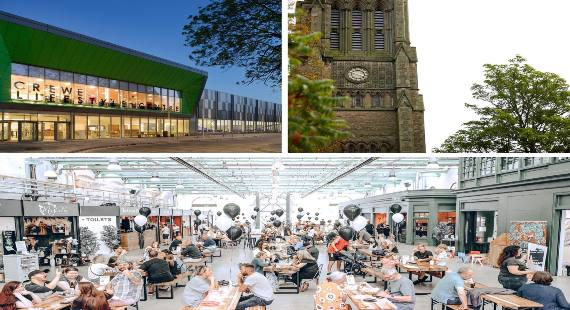 images to show key project areas in crewe